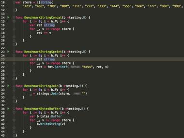 多字符串拼接测试